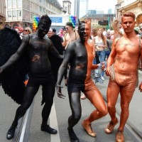 CSD Frankfurt am Main 2016 (Bodypaint by Kai)